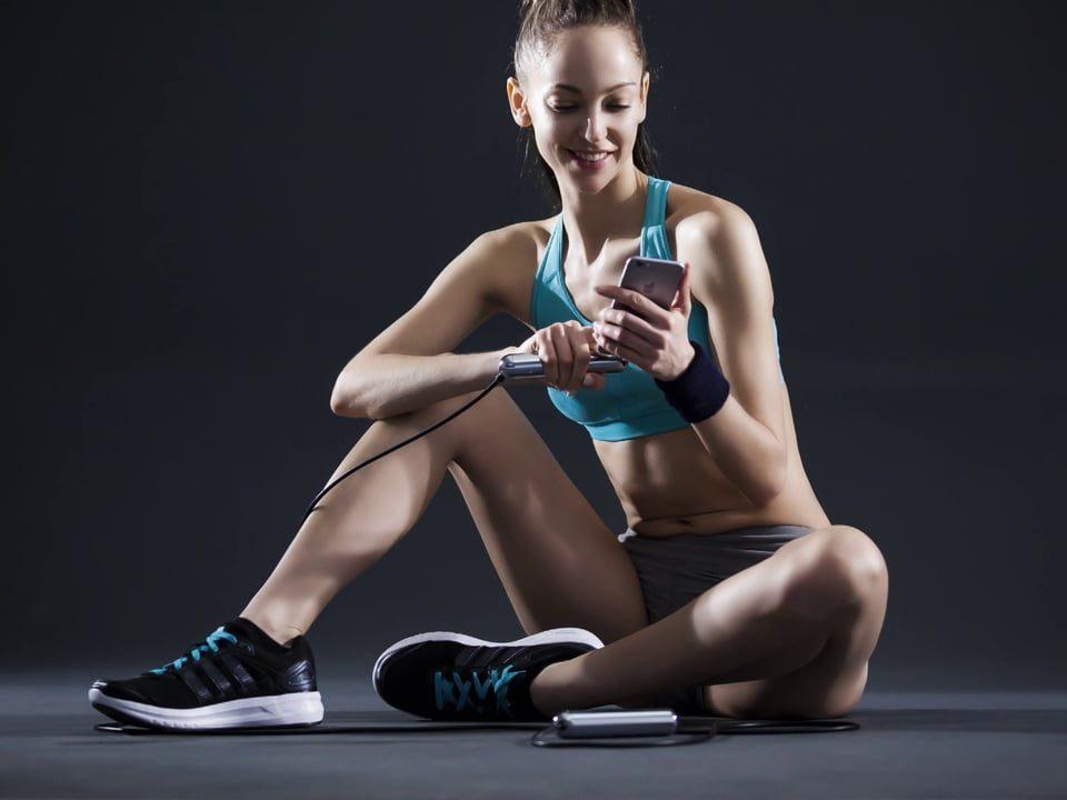 Il cellulare può vanificare l'allenamento