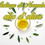 Antiage di Novembre: olio d'oliva