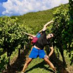 Training tra le vigne