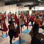 Yoga in assenza di gravità