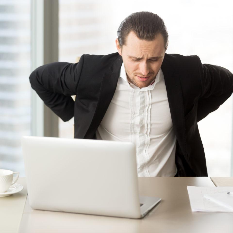 Mal di schiena da ufficio?