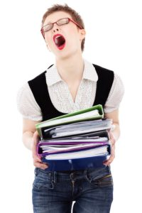 """Burnout. Come prevenire l'""""esaurimento da lavoro""""."""