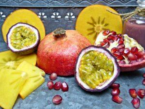 Ciambella ananas e passion fruit
